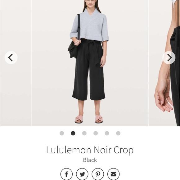 Lulu Noir Crops